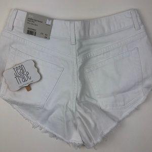 Topshop Shorts - NWT TOPSHOP High Waisted Kiri Cutoff Denim Shorts